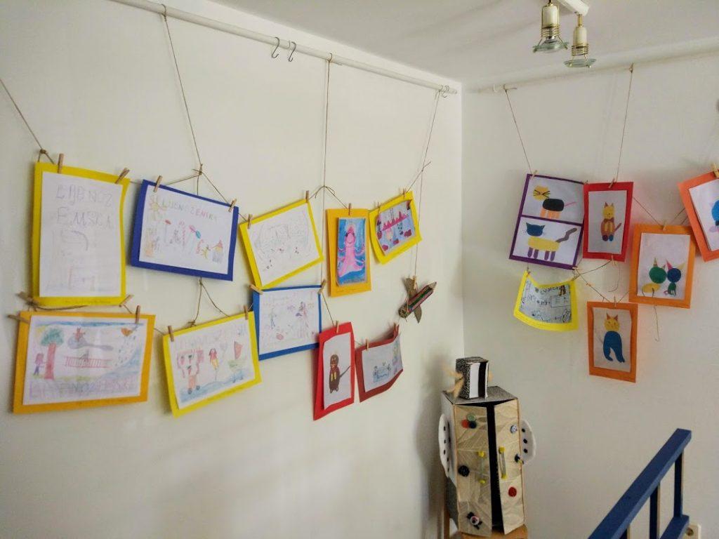 Izložba radova Naša mala knjižnica